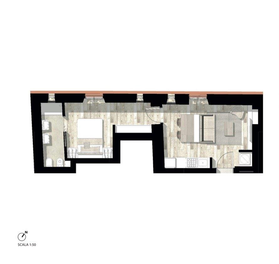 A.2.4 - Suite Palazzo Bandello - Investimento Immobiliare Milano