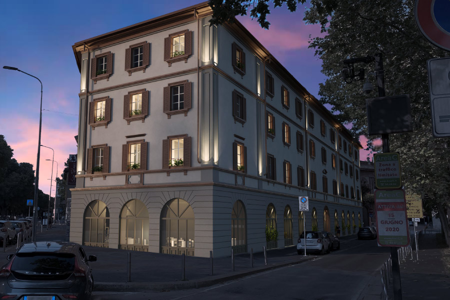 Progetto Palazzo Bandello